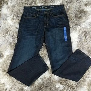 Men's Straight Fit Jeans  | Sz 33x 32